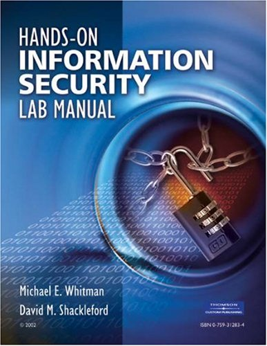 9780759312838: Hands-On Information Security Lab Manual