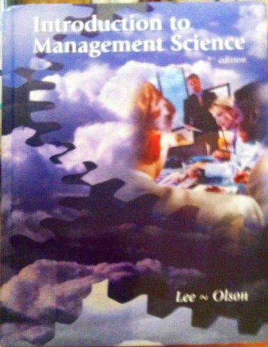 9780759314153: Introduction to Management Science