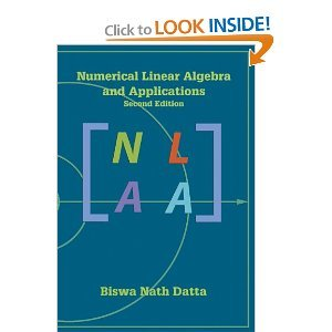 9780759322547: Numerical Linear Algebra and Applications