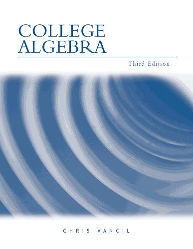 9780759331075: College Algebra
