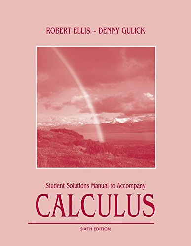 9780759331778: Title: Student Solutions Manual to Accompany Calculus