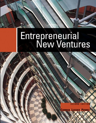 9780759338197: Entrepreneurial New Ventures