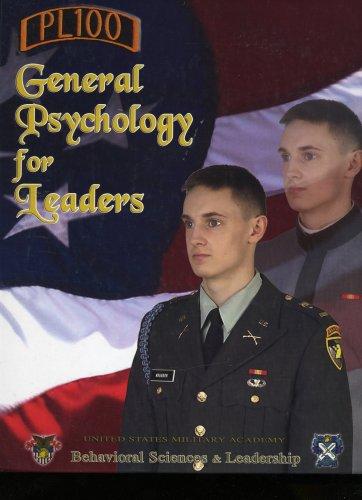 General Psychology for Leaders (PL100): Wayne Weiten