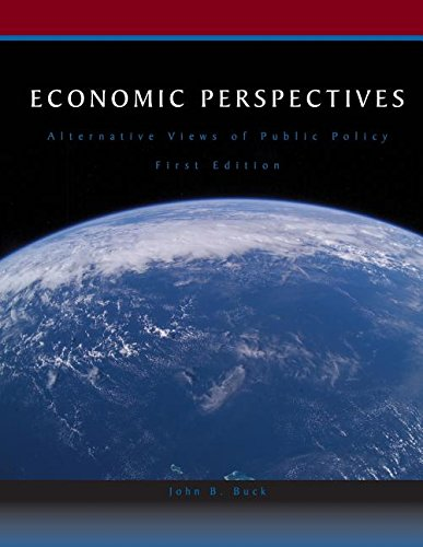 9780759358072: Economic Perspectives (Alternative Views of Public Policy)