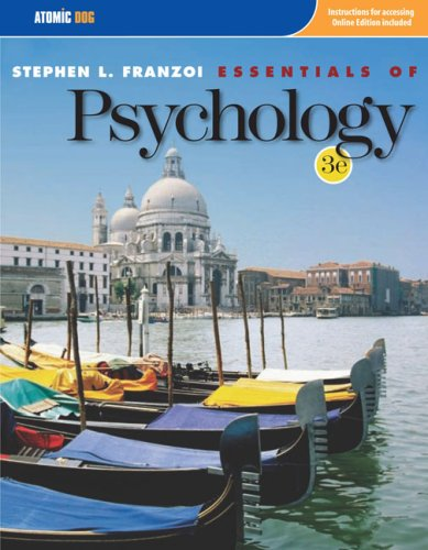 9780759395558: Essentials of Psychology
