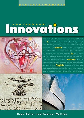Innovations Pre-Intermediate Coursebook: A Course in Natural: Hugh Dellar/ Andrew
