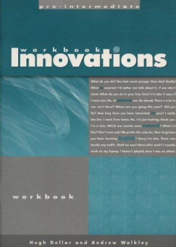 9780759396210: Innovations. Pre-Intermediate Level. Workbook