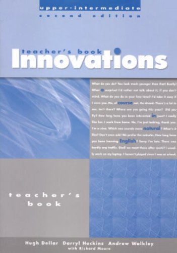 9780759398498: Innovations Upper-Intermediate: Teacher's Book