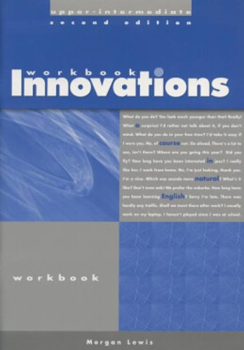 9780759398504: Workbook for Innovations Upper-Intermediate: A Course in Natural English