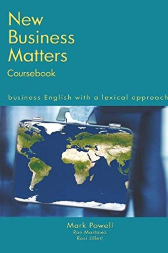 9780759398566: New Business Matters: Business English with a Lexical Approach
