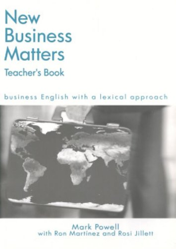 9780759398573: New Business Matters: Teacher's Resource: Business English with a Lexical Approach