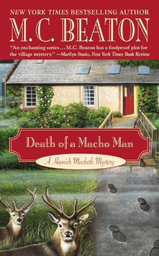 9780759501874: Death of a Macho Man (Hamish Macbeth, #12)