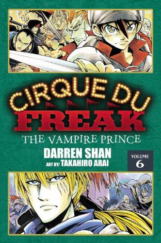 9780759530409: Cirque Du Freak: The Manga, Vol. 6: The Vampire Prince