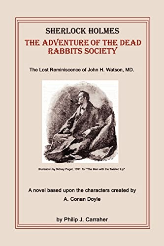 9780759605138: Sherlock Holmes: The Adventure of the Dead Rabbits Society