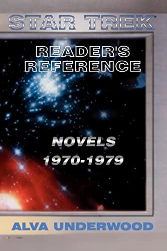 9780759635968: Star Trek Reader's Reference: Novels 1970-1979