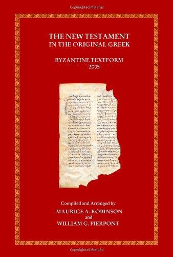 9780759800779: The New Testament in the Original Greek (Greek Edition)