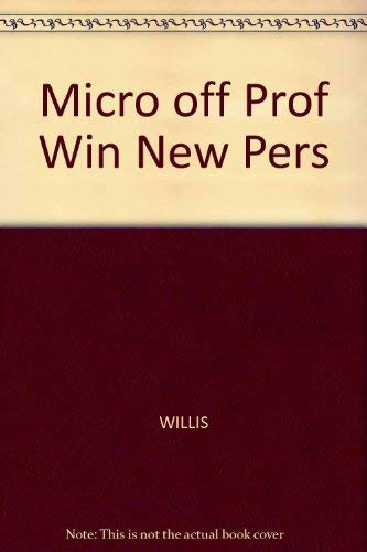 9780760037119: Micro Off Prof Win New Pers