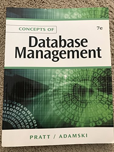 9780760049266: Concepts of Database Management
