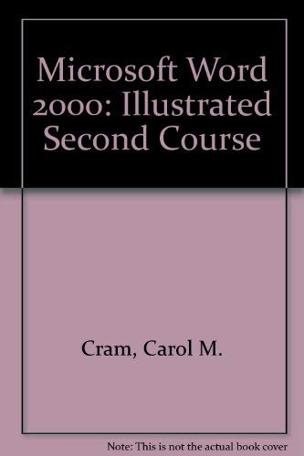 9780760060674: Microsoft Word 2000 - Illustrated Second Course