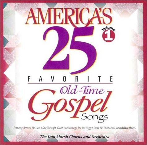 9780760103418: America's 25 Favorite Old-Time Gospel Songs: Volume One