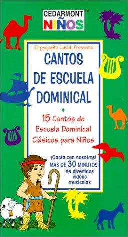 9780760128527: Cantos de Escuela Dominical: 15 Cantos de Escuela Domincal Clasicos Para Ninos [VHS]