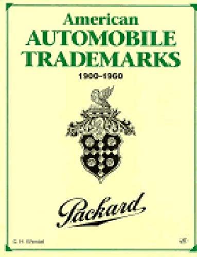 9780760300053: American Automobile Trademarks 1900-1960