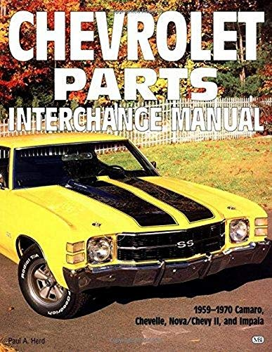 9780760300169: Chevrolet Parts Interchange Manual, 1959-1970 (Motorbooks Workshop)