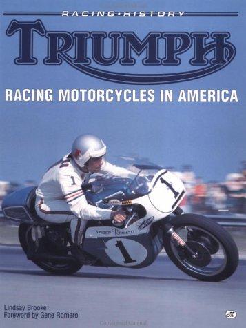 9780760301746: Triumph Racing Motorcyles in America