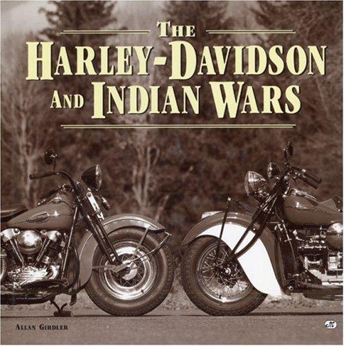 9780760302088: Harley-Davidson and Indian Wars