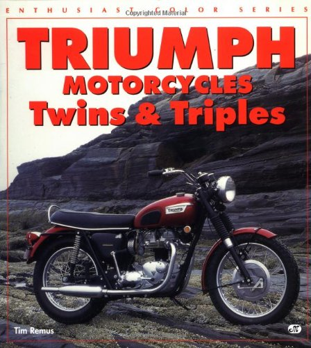 9780760303122: Triumph Motorcycles: Twins and Triples (Enthusiast Color Series)
