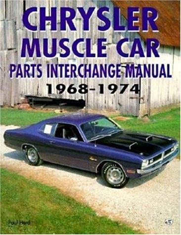 9780760304204: Chrysler Muscle Car Parts Interchange Manual, 1968-1974