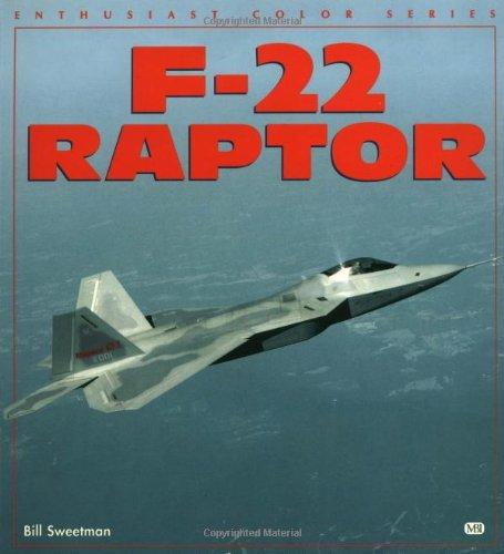 9780760304846: F-22 Raptor (Enthusiast Color)