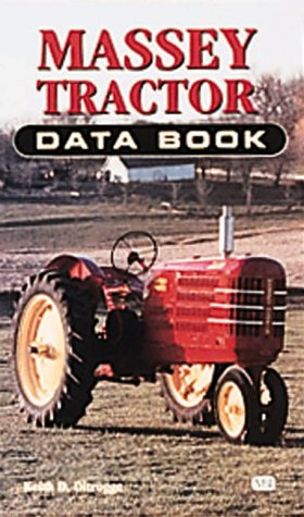 9780760305997: Massey Tractor Data Book (Farm Tractor Data Books)
