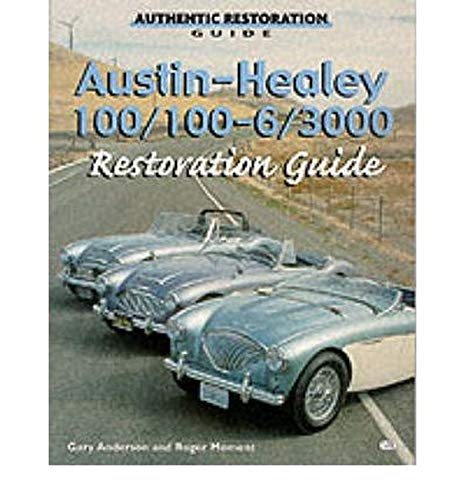 9780760306734: Austin-Healey 100, 100-6, 3000 Restoration Guide (Motorbooks Workshop)