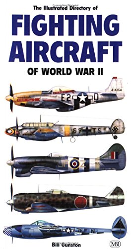 9780760307229: Illustrated Directory of Fighting Aircraft of World War II