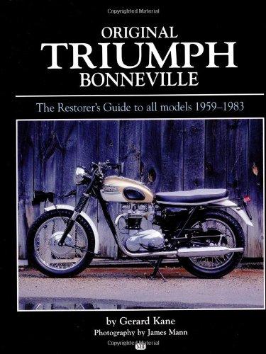 9780760307762: Original Triumph Bonneville