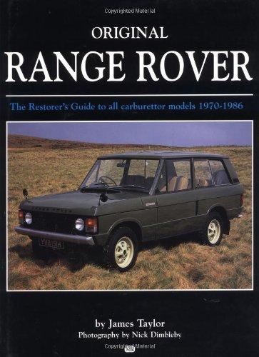 9780760307779: Original Range Rover 1970-1986 (Bay View Books)