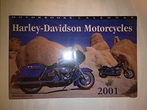 9780760308851: Harley-Davidson Motorcycles 2001 Calendar (Motorbooks Calendar)