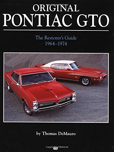 9780760309971: Original Pontiac Gto 1964-1972: 1964-1972