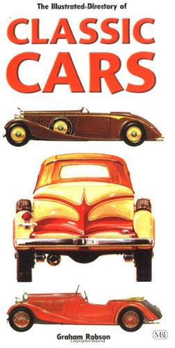 9780760310496: Illustrated Directory of Classic Cars