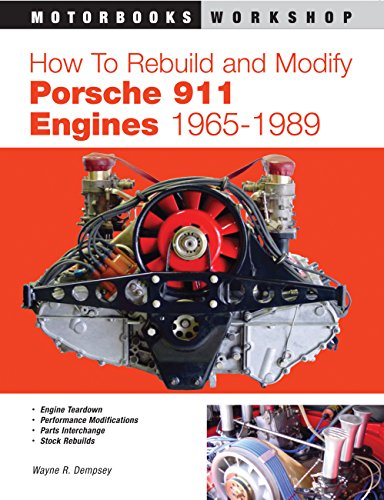 9780760310878: How to Rebuild and Modify Porsche 911 Engines 1965-1989 (Motorbooks Workshop)