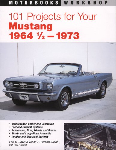 9780760311615: 101 Projects for Your 1964 1/2-1973 Mustang