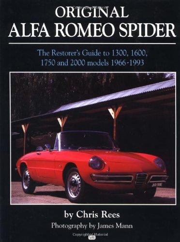 9780760311622: Original Alfa Romeo Spider