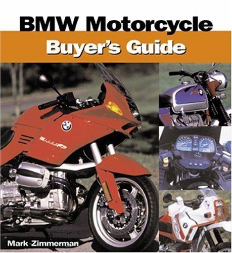 BMW Motorcycle Buyer's Guide: Zimmerman, Mark