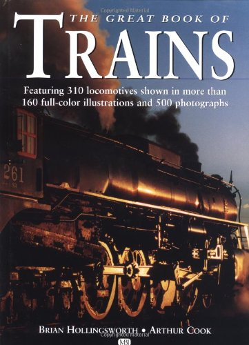 9780760311936: The Great Book of Trains