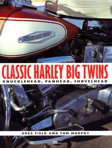 9780760313565: Classic Harley-Davidson Big Twins: Knucklehead, Panhead, Shovelhead