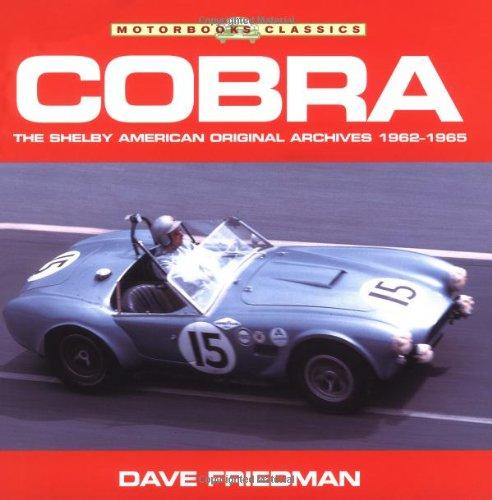 9780760313688: Cobra (Motorbooks Classics)
