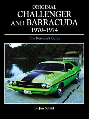 Original Challenger and Barracuda 1970-1974 (Original Series) (0760314691) by Jim Schild