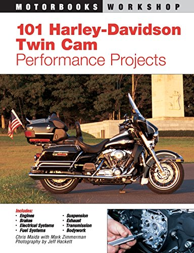 9780760316399: 101 Harley-Davidson Twin Cam Performance Projects (Motorbooks Workshop)