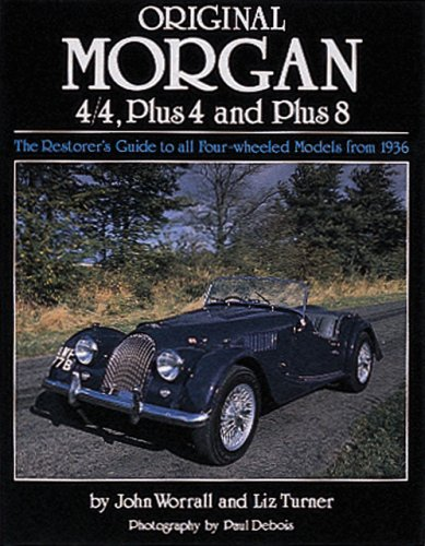 9780760316443: Original Morgan: 4/4, Plus 4 and Plus 8